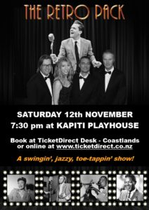The Retro Pack @ Kapiti Playhouse Poster